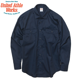 United Athle 1773-01 T/C ワーク ロングスリーブシャツ